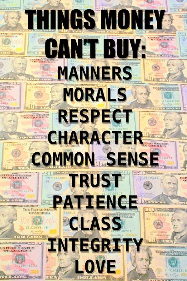 Achat d'argent image libre de droits