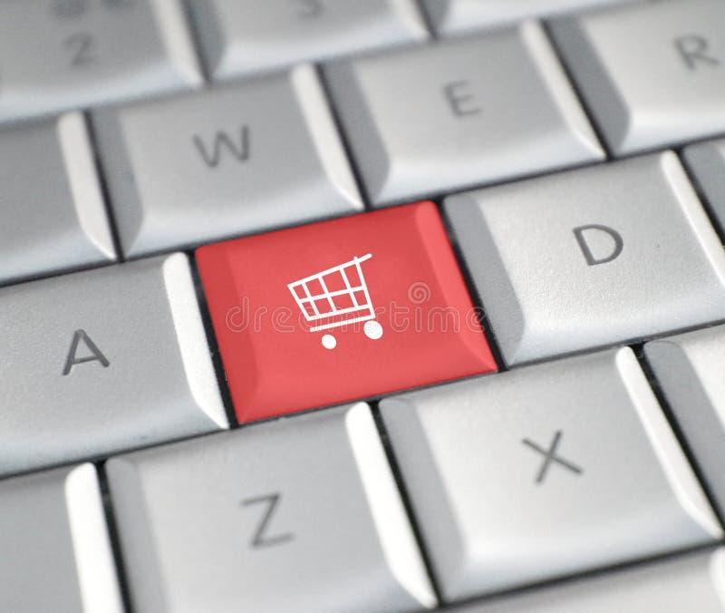 Achat en ligne photographie stock libre de droits