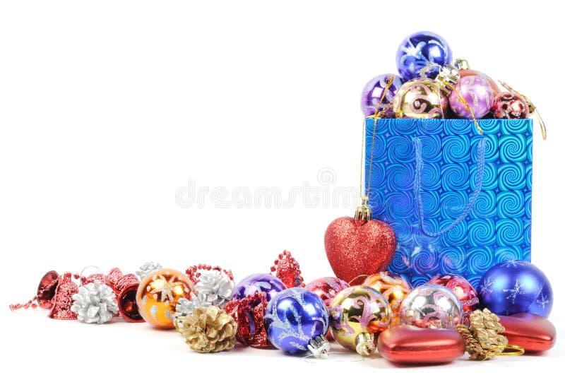 Achat pour Noël image stock