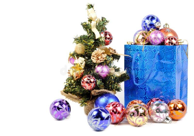 Achat pour Noël photos libres de droits