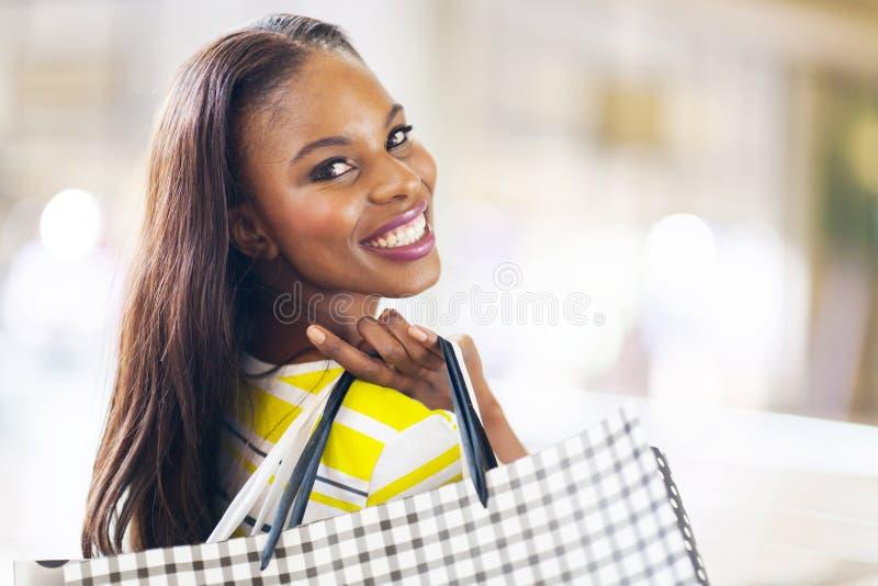 Achats africains de dame images libres de droits