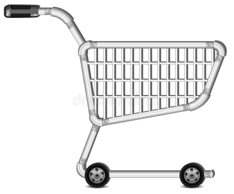 achats de chariot illustration libre de droits