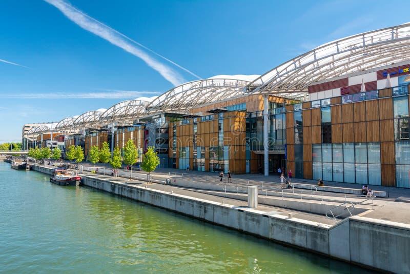 Achats de confluent à Lyon photos libres de droits