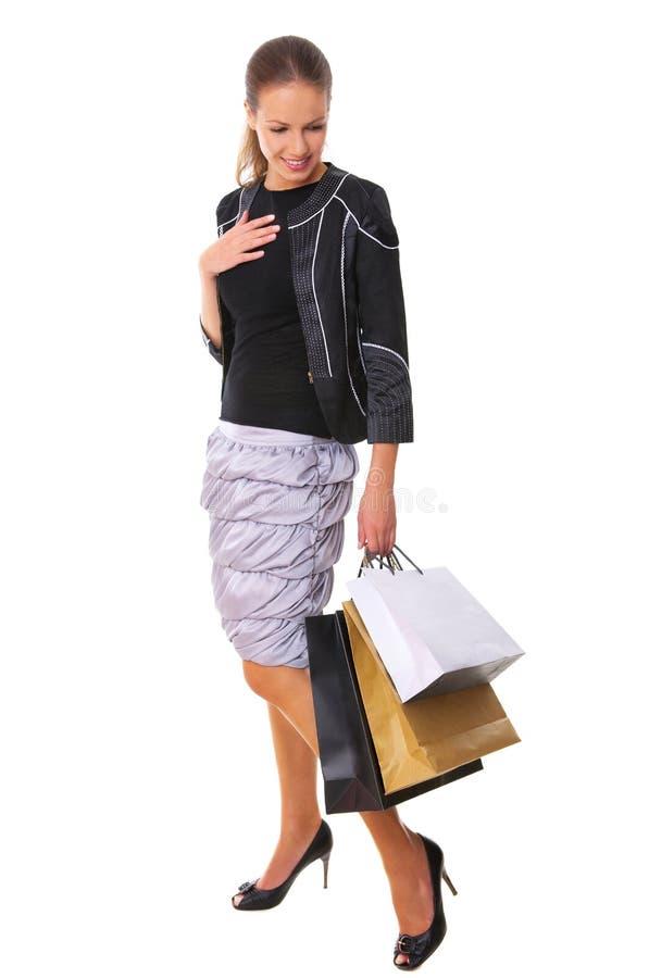 achats de fille image libre de droits