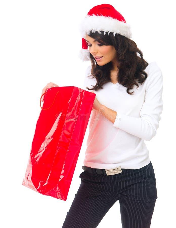 achats de Noël photographie stock libre de droits