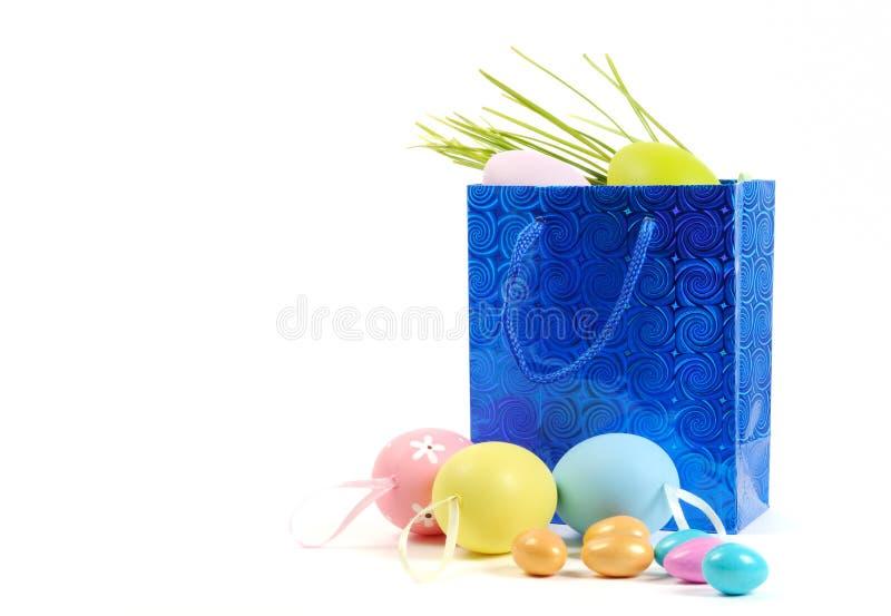 Achats de Pâques image libre de droits