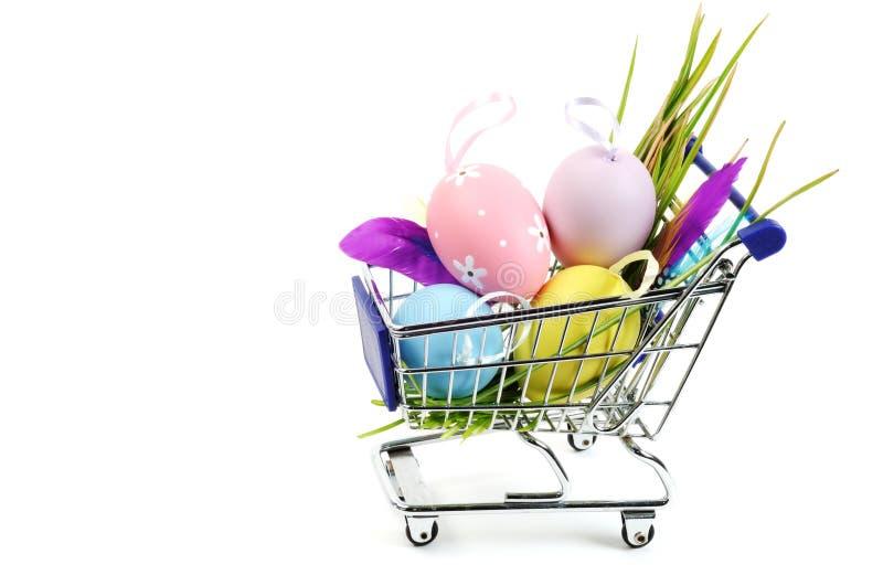 Achats de Pâques images libres de droits