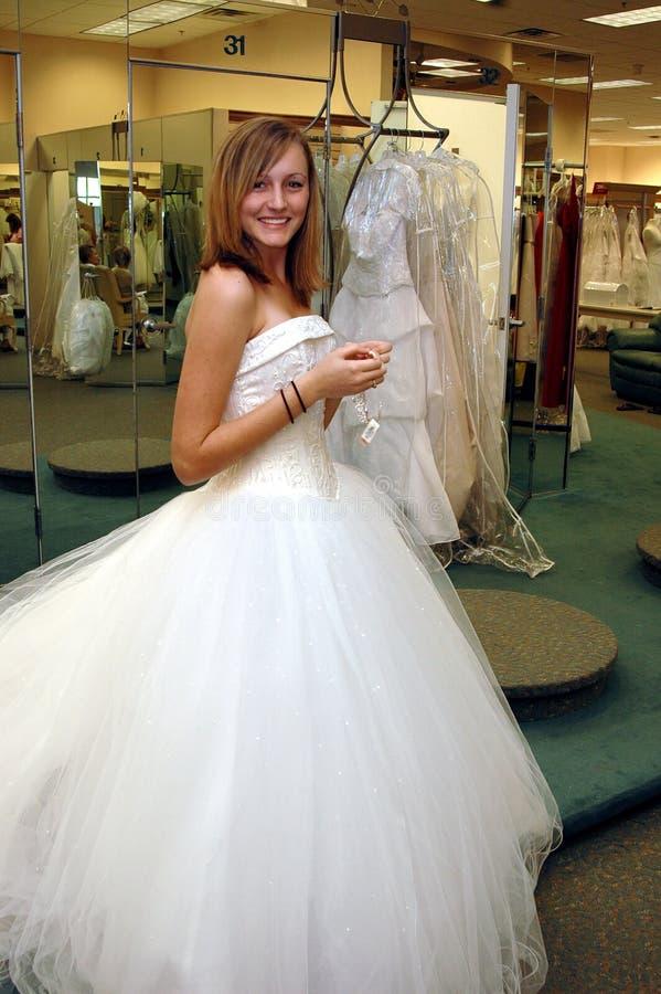 Achats de robe photo libre de droits
