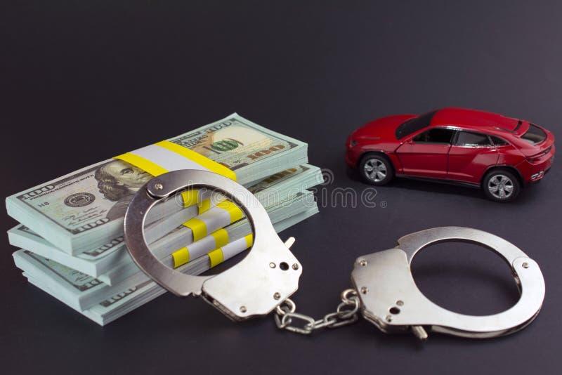 Achats en vente de voiture de fraude de v?hicules images stock