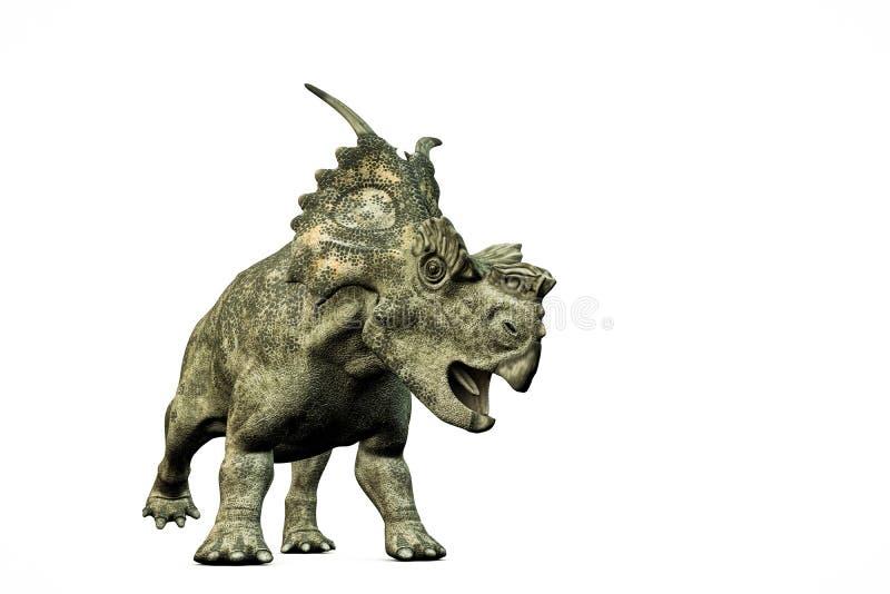 Achelousaurus illustration libre de droits