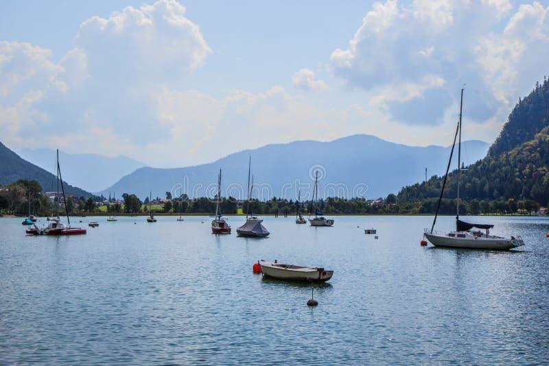 Achensee美丽的湖  库存图片
