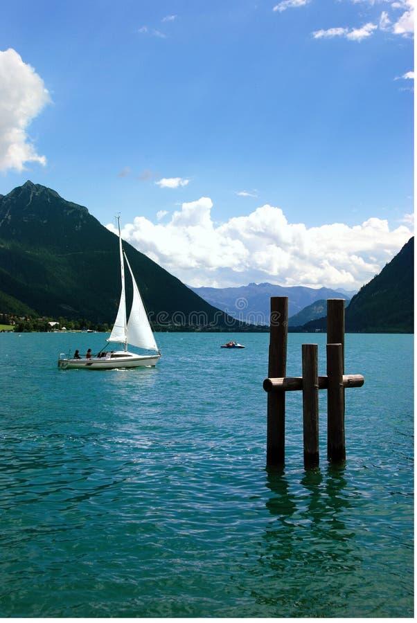 Achensee See stockbild