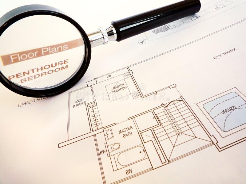achetez l'appartement terrasse de luxe à la maison prévoyant à photo libre de droits