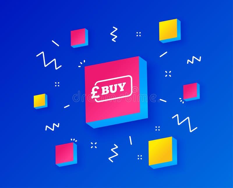 Achetez l'icône de signe Bouton de achat en ligne de livre Vecteur illustration libre de droits