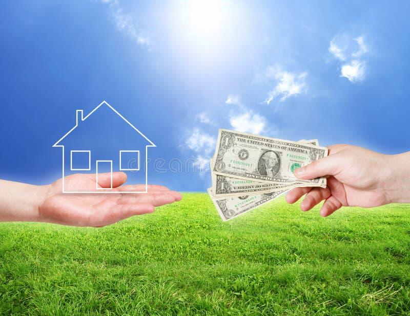Achetez la nouvelle maison image stock