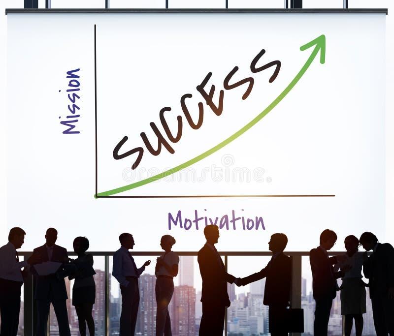 Achievement Creativity Strategy Success Icon. Team stock image