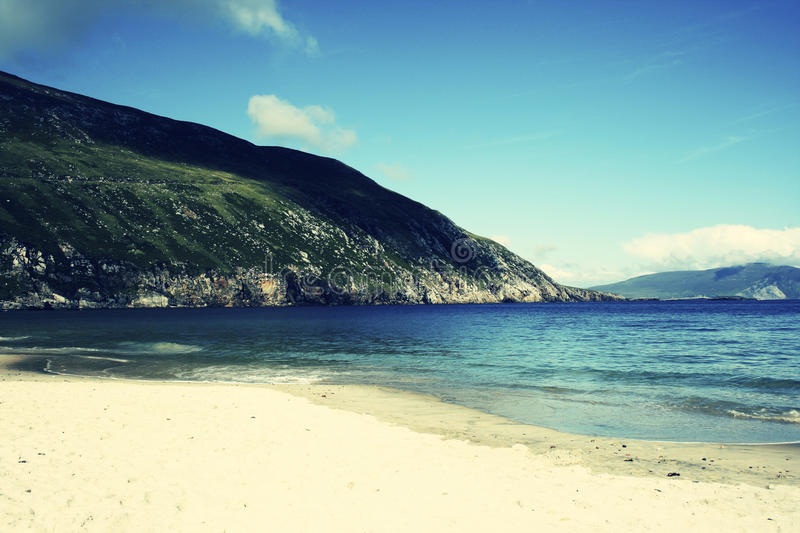 Download Achil Beach stock image. Image of island, processed, mountain - 11472565