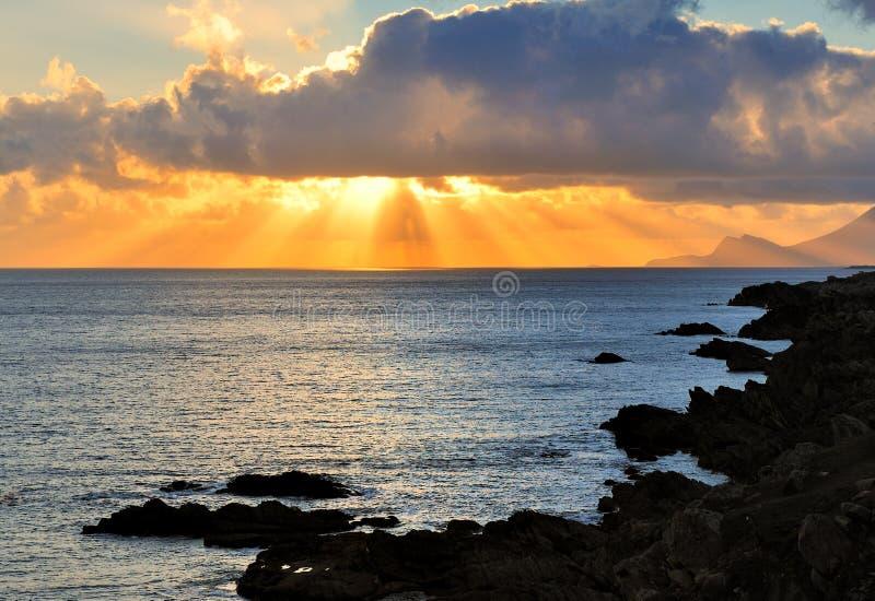 Download Achill Sunset stock image. Image of cloud, dusk, dark - 6283387