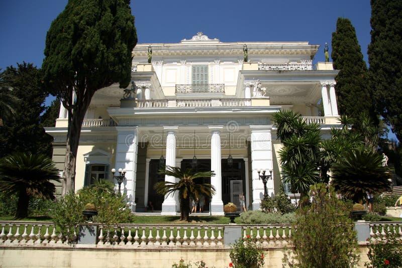 Achilleion pałac Corfu, Grecja (,) zdjęcia royalty free