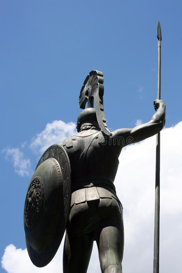 Achilles immagine stock
