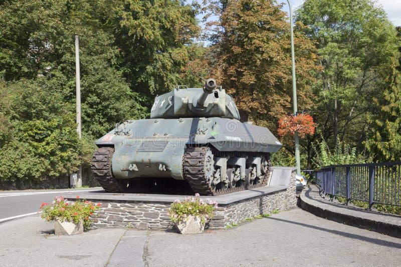 Achilles Tank Destroyer Mk 10 no Roche-en-Ardenne do La fotos de stock