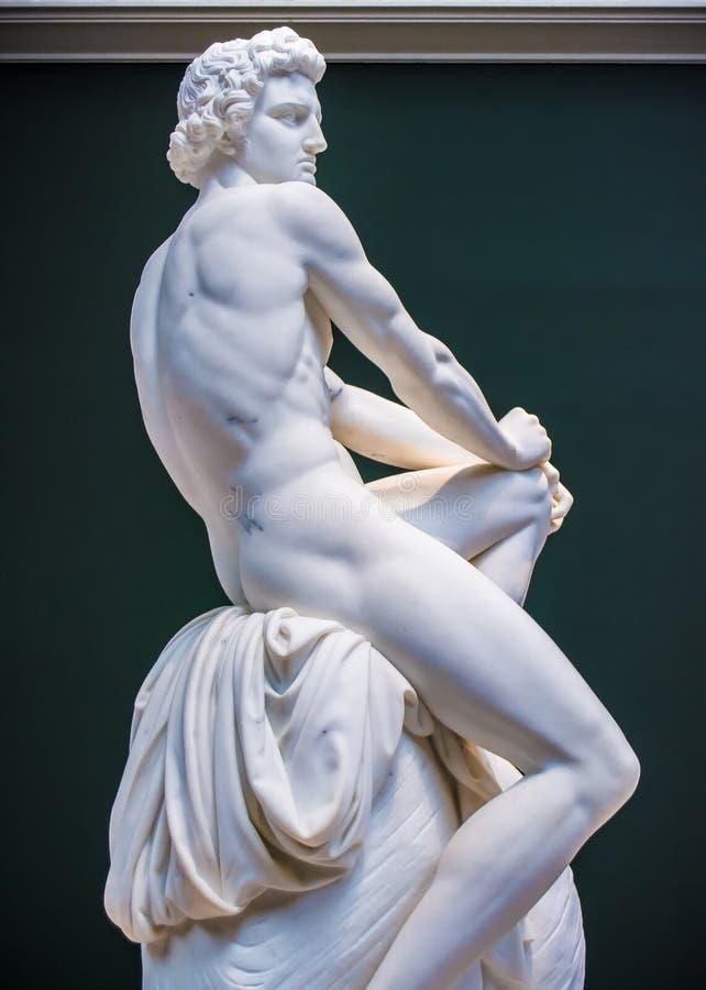 Achilleus-Statue lizenzfreie stockbilder