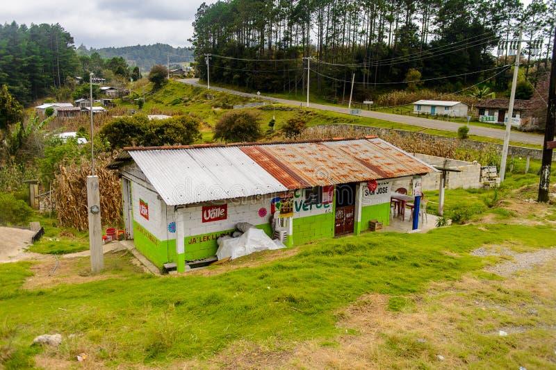 Achitecture av den Chiapas staten, Mexico royaltyfri foto