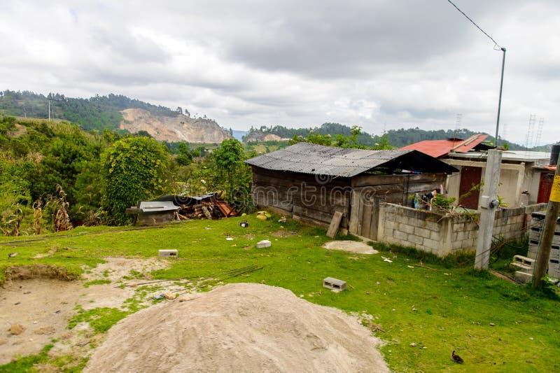 Achitecture av den Chiapas staten, Mexico arkivbilder