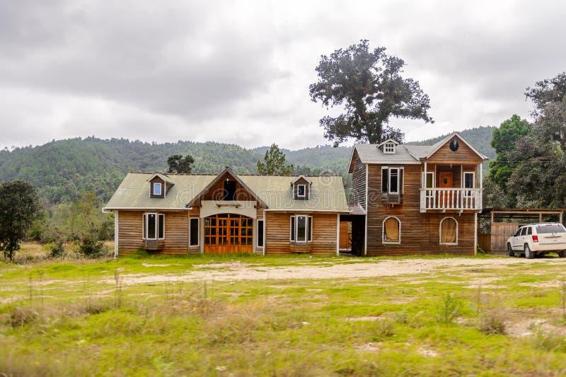 Achitecture av den Chiapas staten, Mexico royaltyfri fotografi