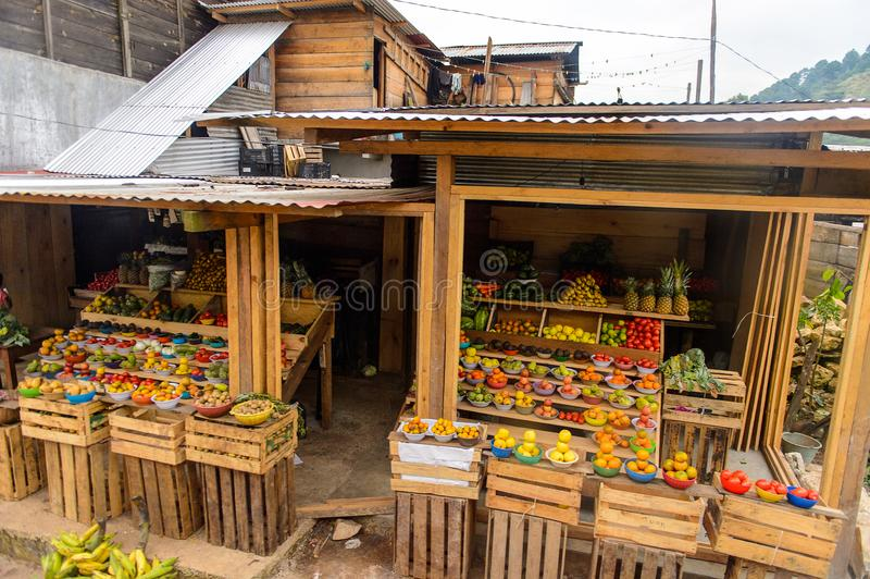Achitecture av den Chiapas staten, Mexico royaltyfria foton