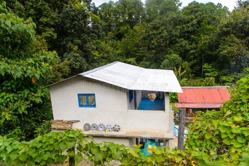 Achitecture av den Chiapas staten, Mexico fotografering för bildbyråer