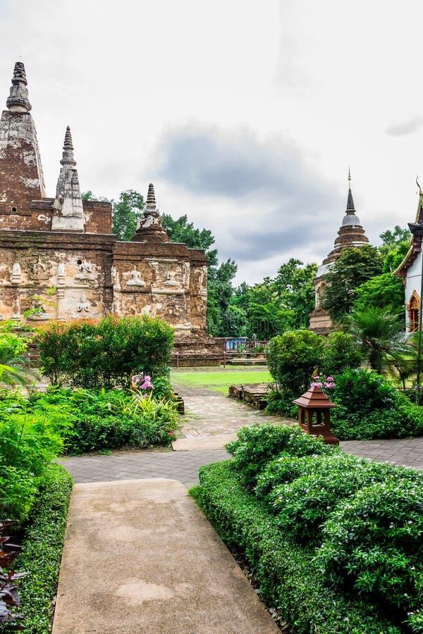 Achitecture religioso tailandés fotografía de archivo