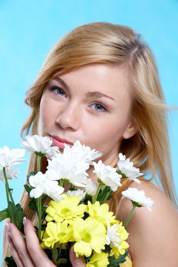 Achter bloemen royalty-vrije stock foto's