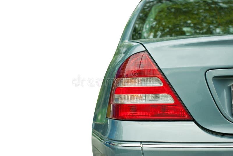 Achter lichte auto royalty-vrije stock foto