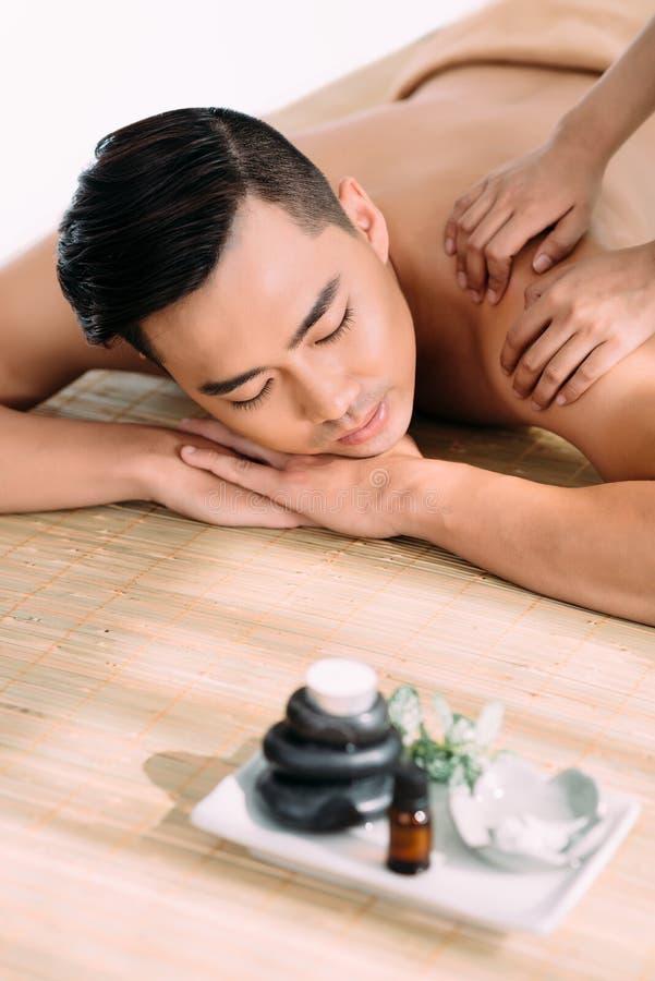 Achter Massage royalty-vrije stock afbeelding