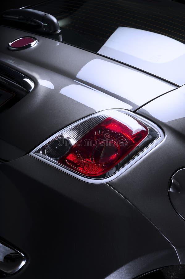 Achterachterlicht van een auto stock fotografie