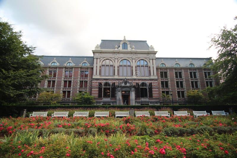 Achtereind van één van de gebouwen van paleis Noordeinde in Den Haag The Hague in Netherland royalty-vrije stock afbeelding