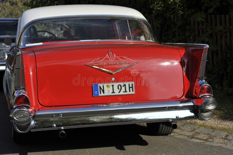 Achtereind van oud Chevrolet royalty-vrije stock foto's