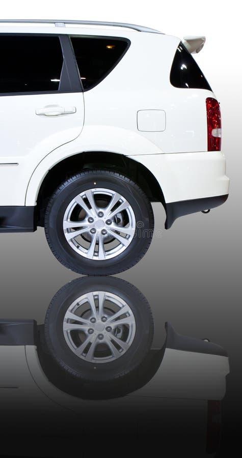 Achtergedeelte van auto SUV royalty-vrije stock foto's