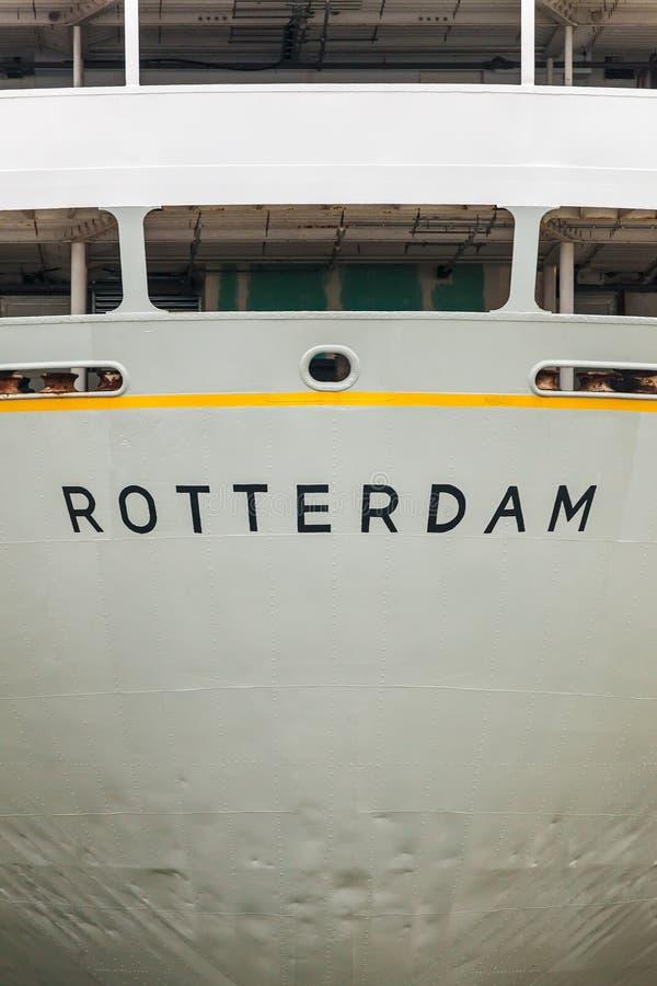 Download Achtergevel Van Een Oud Rotterdam Gebaseerd Cruiseschip Stock Foto - Afbeelding bestaande uit reis, holland: 29503962