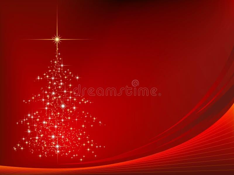 Achtergrond 01 van Kerstmis royalty-vrije illustratie