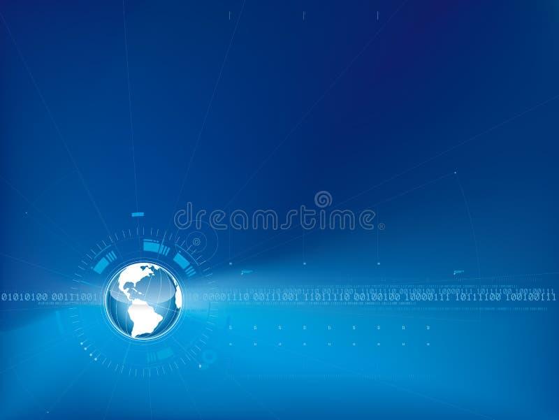 Achtergrond 02 van de wereld royalty-vrije illustratie