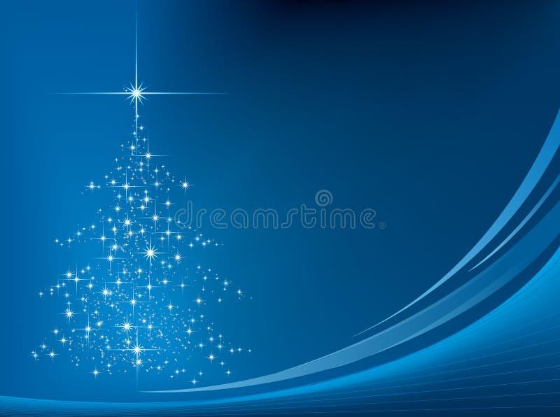 Achtergrond 02 van Kerstmis stock illustratie