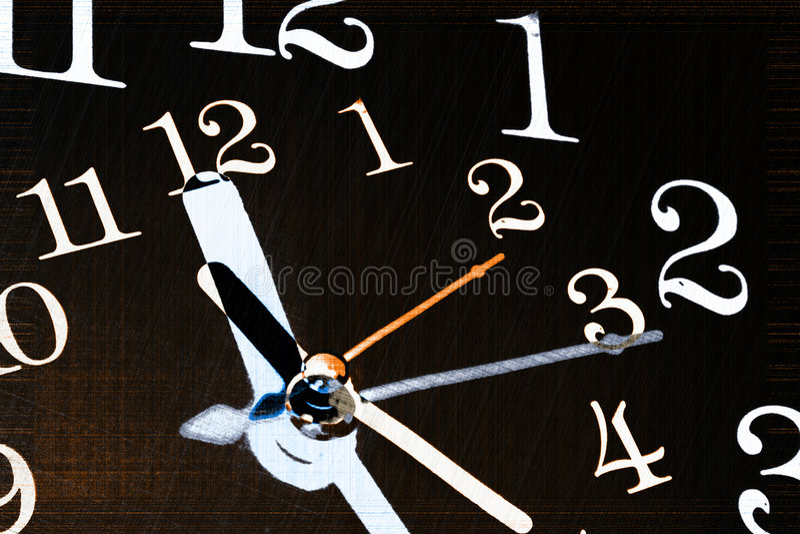 Achtergrond 1 van de tijd vector illustratie
