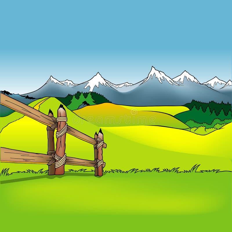 Achtergrond 12 van het beeldverhaal vector illustratie
