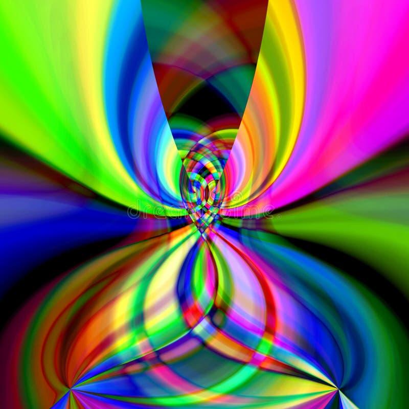 Achtergrond 442 van de kleur stock illustratie