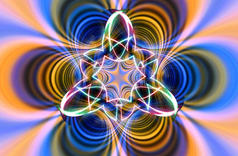 Achtergrond 583 van de kleur vector illustratie