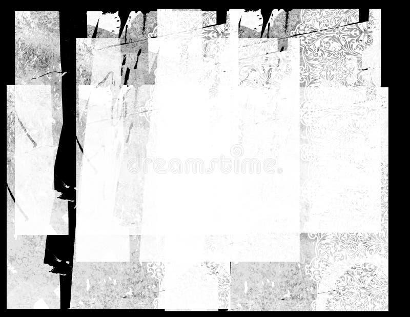 Achtergrond 6 van Grunge stock foto's