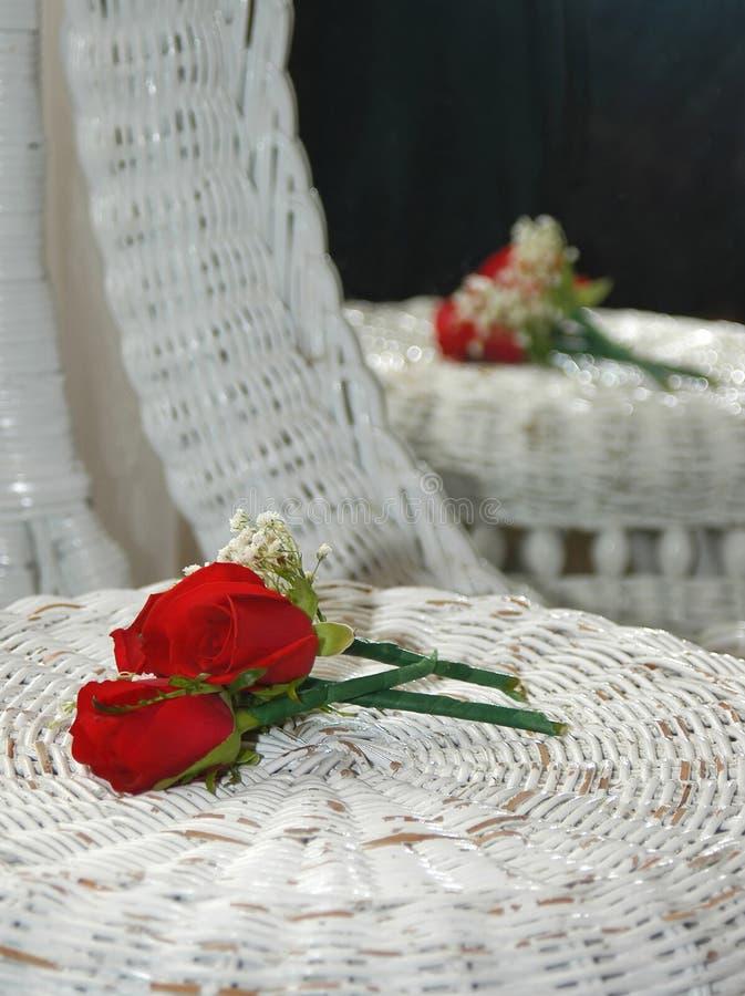 Achtergrond 7657 van het huwelijk stock foto
