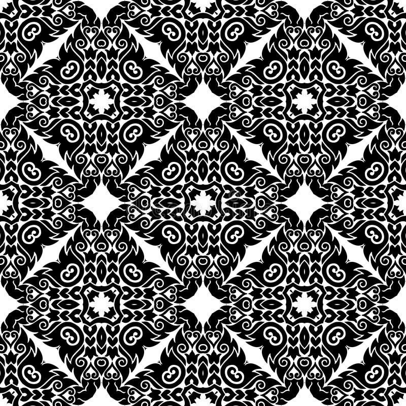 Achtergrond, abstract geometrisch naadloos patroon, vector stock illustratie